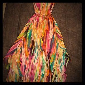 Calvin Klein Multicolor Maxi Dress